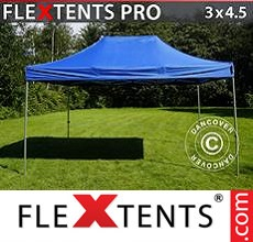 Racing tent FleXtents PRO 3x4.5 m Blue