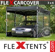 Racing tent FleX Carcover, 3x6 m, Black