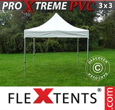 Racing tent Xtreme Heavy Duty 3x3 m, White