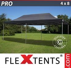 Racing tent PRO 4x8 m Black