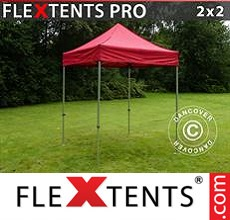 Racing tent FleXtents PRO 2x2 m Red