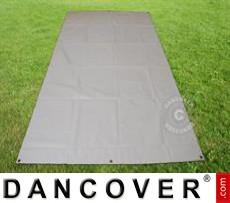 Tarpaulin/Ground Cover 2.6x6.1 m PVC, Grey
