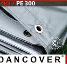 Tarpaulin 3x10m PE 300 g/m² Grey