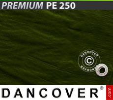 Tarpaulin 6x8 m PE 250 g/m² Green