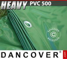 Tarpaulin 5x7m PVC 500 g/m² Green