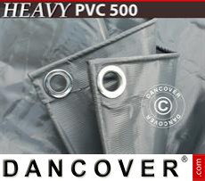Tarpaulin 4x6 m 500 g/m² Grey
