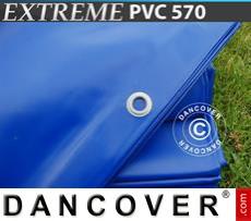 Tarpaulin 4x6 m PVC 570 g/m² Blue