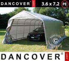 Tents PRO 3.6x7.2x2.68 m PE, Grey