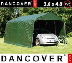 Tents PRO 3.6x4.8x2.7 m, PVC, Green