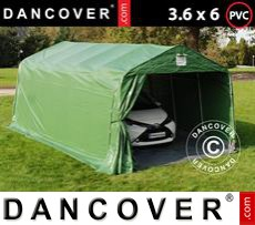 Tents PRO 3.6x6x2.68 m PVC, with ground cover, Green/Grey