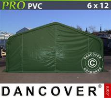 Tents PRO 6x12x3.7 m PVC, Green