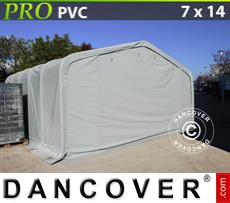 Tents PRO 7x14x3.8 m PVC, Grey