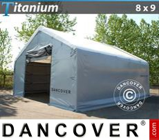 Tents Titanium 8x9x3x5 m, White / Grey