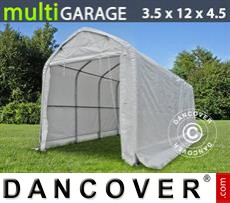 Tents multiGarage 3.5x12x3.5x4.5 m, White