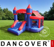 Bouncy Castle 2.4x2.7x2 m Blue/Red