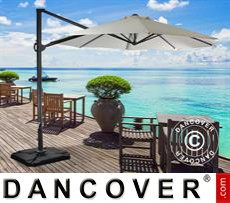 Parasol Cantilever, Roma Round, ؘ3m, Sand