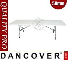 Folding Table 242x76x74cm, Light grey (10 pcs.)