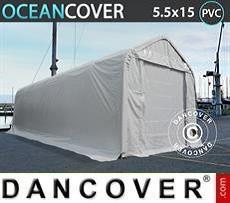 Camper Tent Oceancover 5.5x15x4.1x5.3 m, PVC