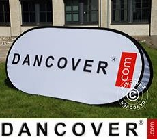 Pop up banner, Premium, 160x65cm