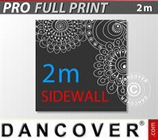 Printed sidewall 2 m for FleXtents PRO