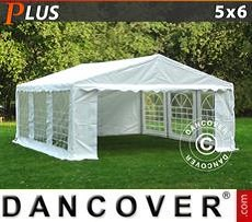Party Marquee PLUS 5x6 m PE, White