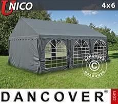 Party Marquee  UNICO 4x6 m, Dark Grey