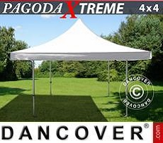Party Marquee Pagoda Xtreme 4x4 m / (5x5 m) White