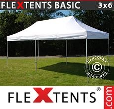 Pop up canopy Basic v.2, 3x6 m White