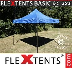 Pop up canopy Basic v.2, 3x3 m Blue