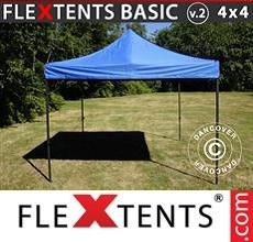 Pop up canopy Basic v.2, 4x4m Blue