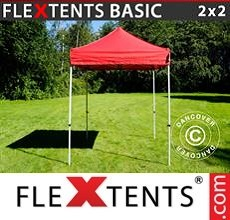 Pop up canopy Basic v.2, 2x2 m Red