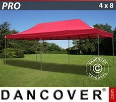 Pop Up Marquee  PRO 4x8 m Red