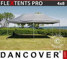 Pop Up Marquee PRO 4x8 m Grey