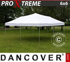Pop Up Marquee Xtreme 6x6 m White