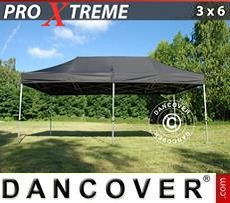 Pop Up Marquee Xtreme 3x6 m Black