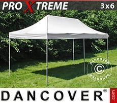 Pop Up Marquee  Xtreme 3x6 m White, Flame retardant