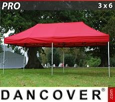 Pop Up Marquee PRO 3x6 m Red