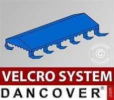 Roof cover for Marquee UNICO, PVC/Polyester, 5x10m, Blue