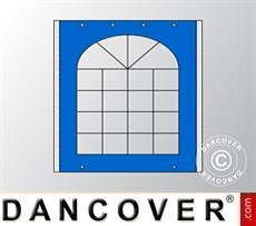 Sidewall w/window for Marquee UNICO, PVC/Polyester, 2m, Blue