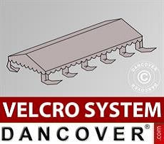 Roof cover for Marquee UNICO, PVC/Polyester, 5x10m, Sand