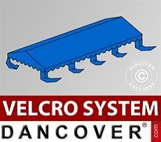 Roof cover for Marquee UNICO, PVC/Polyester, 4x8m, Blue