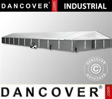 Industrial Storage Hall 20x50x9,04 m w/sliding gate, PVC/Metal, White
