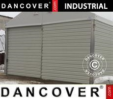 Sliding gate for Industrial Storage Hall, 4,70 m, Metal, White
