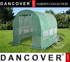 Greenhouse 2x4.5x2 m, 9 m², Green