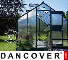 Greenhouse 9.9 m², 2.77x3.70x2.57 m, Anthracite