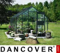 Greenhouse 12.1 m², 2.77x4.41x2.57 m, Anthracite