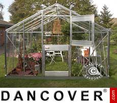 Greenhouse 9.9 m², 2.77x3.70x2.57 m, Aluminium