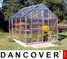 Greenhouse 5 m², 1.93x2.57x1.95 m, Aluminium
