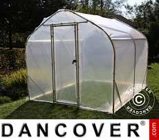 Polytunnel Greenhouse 2x3.75x2 m