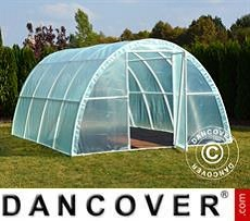 Polytunnel Greenhouse 3x4.8x1.9 m, 14.4 m², Transparent